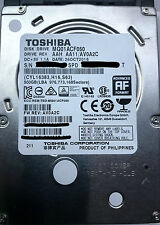 "NEW Toshiba 500 GB Laptop Hard Drive SATA-600 2.5"" - MQ01ACF050 - Imported"