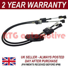 FORD TRANSIT MK7 2006 On 2.2  5 SPEED GEARBOX DIESEL GEAR SELECTOR CABLE SET
