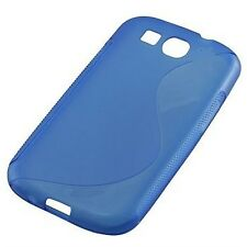 CUSTODIA COVER per SAMSUNG GT S5292 STAR DELUXE DUO BACK CASE S-LINE BLU