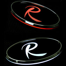 LED Tuning Point Rear Trunk R Logo Emblem 2Way For 10 11 12 Kia Sportage R