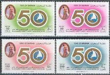 Bahrain 1990 ** Mi.424/27 Handelskammer Commerce