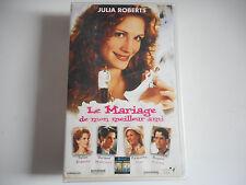 K7 VHS / CASSETTE VIDEO - LE MARIAGE DE MON MEILLEUR AMI - JULIA ROBERTS