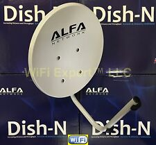 Alfa Network Dish-N Antenna ONLY - FOR USE WITH Alfa N2S, N2, N5 and Ubiquiti