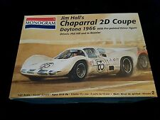 Monogram 1/24 Jim Halls Chaparral 2D Coupe 1966 Great Condition Very Rare