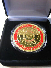 PHILADELPHIA Fire Dept Challenge Coin with Gift Box