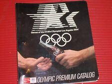 VINTAGE COCA COLA OLYMPIC PREMIUM CATALOG   LOS ANGELES 1984