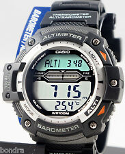 Casio SGW300H-1A Watch Altimeter Thermometer World Time Resin Band New