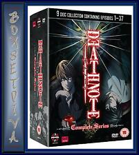 DEATH NOTE COMPLETE SERIES **BRAND NEW 9 DVD BOX SET****