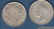 Canada - 50 Cents 1951 George VI Argent Silver Qualité TTB - SUP - Canada