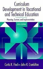 Curriculum Development in Vocational and Technical Education: Planning-ExLibrary