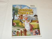 Chicken Shoot Nintendo Wii  2007 shooting everyone video game adult owned GREAT