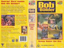 BOB THE BUILDER BOB SCOOP SAVE THE DAY VHS VIDEO PAL~ A RARE FIND