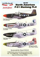 Lifelike Decals 1/48 NORTH AMERICAN P-51 MUSTANG Part 3
