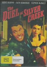 THE DUEL AT SILVER CREEK - AUDIE MURPHY NEW SEALED ALL REGION DVD