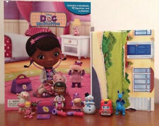 """NEW OUT FROM DISNEY """"DOC MCSTUFFINS MY BUSY BOOKS WITH 12 CHARACTER FIGURES BNIB"""