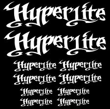 Hyperlite wakeboard sticker decal watersports boat wakeskate wakesurf SET2