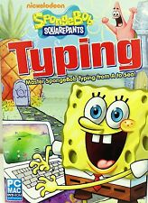 Spongebob Typing PC Games Windows 10 8 7 Vista Computer sponge bob kid macintosh