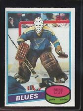 1980-1981 Topps Mike Liut #31 Rookie Card - Mint