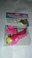 """VOTOYS SOFT CATNIP MINI 4"""" DELICATE BUTTERFLY TEASER CAT TOY. FREE SHIP TO USA"""
