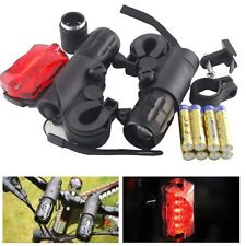 2pcs CREE Q5 7W LED Bike Cycling Torches Front Headlight Flashlight+Batteries
