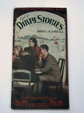 OF DIRTY STORIES Daniel A. Lord S.J. Australian Catholic Trunth 1940 Melbourne