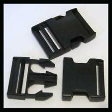 4X DELRIN CLIPS FOR LUGGAGE STRAP BELT PLASTIC SNAP CLICK BUCKLE FASTENER CLASP