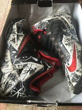 Nike Lebron XI - 11 Size 11 Graffiti In Very Good Clean Condition