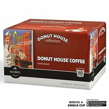 Donut House Light Roast Coffee K-Cup Pods for Keurig K-Cup Brewers 80-Count