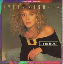 KYLIE MINOGUE  It's No Secret / Made In Heaven 45 with PicSleeve