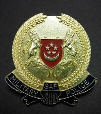 Singapore Old Vintage SAF Military P O L I C E Polis Pin Badge Tiger Lion (B218)
