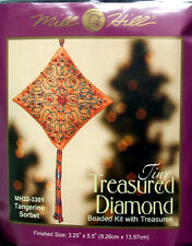 Mill Hill Cross Stitch Bead Kit Christmas Diamond 'Tangerine Sorbet' 22-3301