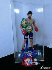 custom 12 inches 1/6 Manny Pacquiao  figure boxing rocky