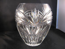 WATERFORD Crystal CALAIS -MARQUIS Pattern Signed Large Vase
