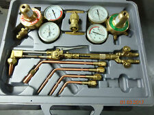 Oxy Acetylene Cutting Welding Kit Metal Work Repair Body Shop Garage Tools Cut