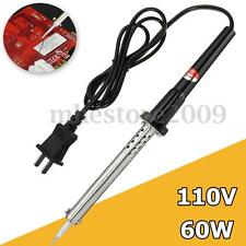 60W Soldering Iron Heat Pencil Tip 110V Electric Welding Solder New Home Shop