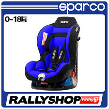 Sparco Child Seat F5000 K BLUE 0-18 kg ECE Homologation Safety !! NEW 2016 !!