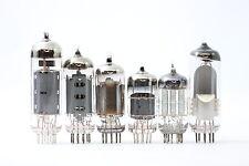 1950´S RADIO TUBE KIT. KIT VALVULA. EL84 ECH81 EF89 ECC85 EABC80 USED 80% EM80