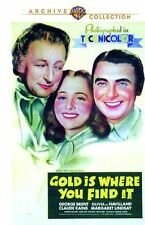 GOLD IS WHERE YOU FIND IT - (1938 George Brent) Region Free DVD - Sealed