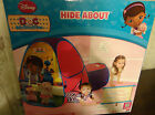DISNEY DOC MCSTUFFINS HIDE ABOUT TWIST & FOLD TENT AND TUNNEL POP UP NEW