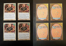 4x Rune of Protection: Black - Urza's Saga