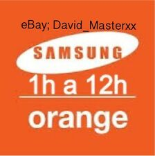 Unlock Orange España Samsung S,S2,S3,S4,S5,S6,S7,Note,J,A.. ALL MODEL Liberar
