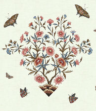 Winterthur Butterfly  Panel Quilt Reproduction Cotton Fabric Andover BFab