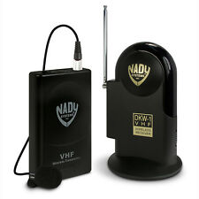 Nady DKW-1-LT/O VHF Lavalier Microphone Lav Mic Omni Wireless System Band E3
