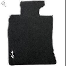 Mini Cooper Black Carpet Floor Mats R55 Clubman R56-2Door 2011-13 Front Set OEM