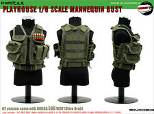 1:6 Saturday Toys/Play House – Mannequin Bust Series 002 Omega EOD Vest in Green