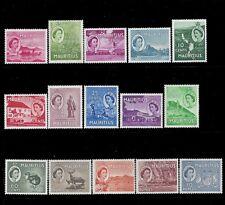 Mauritius Stamps 1953 2c-10R QEII Scenes (SG293-306) Mint £60/$78