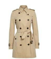 New Burberry 'Kensington' Double Breasted Trench Coat(6)