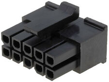 HOUSING CONNECTOR MICRO FIT MALE 5x2 WAY MOLEX 43025-1000 PRICE FOR 1 PCS