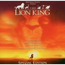 OST/THE LION KING SPECIAL EDITION-ELTON JOHN UVM CD 14 TRACKS SOUNDTRACK NEU