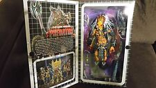 PREDATOR CLAN LEADER DELUXE ULTIMATE ALIEN HUNTER ACTION FIGURE NECA ALIENS